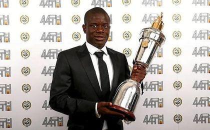 Kanté nombrado jugador del año.