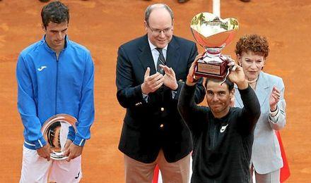 Nadal es quinto tras su victoria en Montecarlo y Ramos asciende cinco puestos