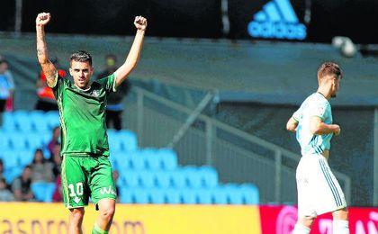 La victoria en Vigo deja al Betis con un colchón de 14 puntos a falta de 15 por disputarse.