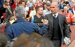 """Guardiola: """"Mourinho y yo somos vecinos y si nos vemos nos decimos ´hola´"""""""
