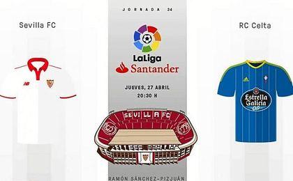 Sevilla FC-Celta: Síguelo en directo