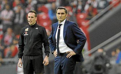 El entrenador del Athletic.