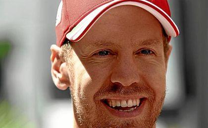 Sebastian Vettel saldrá desde la primera posición.