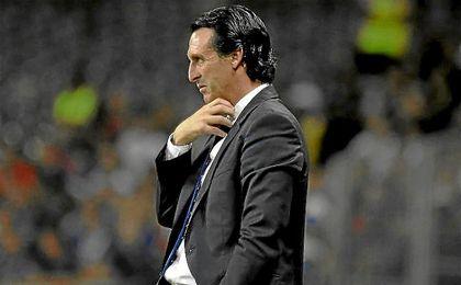 Unai Emery, esta temporada al frente del PSG.