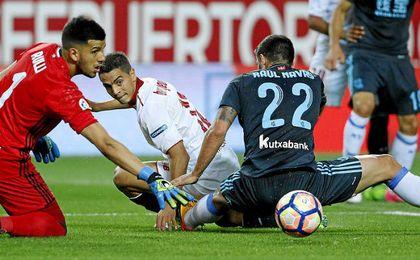 Sevilla FC 1-1 Real Sociedad: Otra vez falla en una 'final'; sí, otra vez