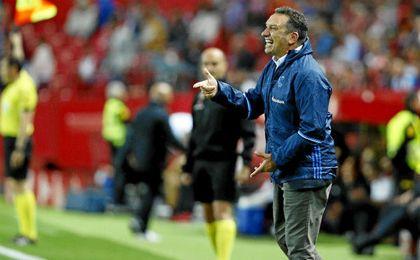 Eusebio se mostró satisfecho por la labor de su equipo.