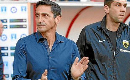 Jiménez acarició su segundo título con el AEK