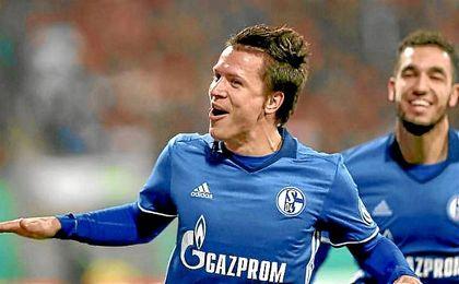 Konoplyanka ha hecho siete goles, uno de ellos en la Bundesliga.