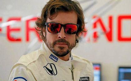 Fernando Alonso en Honda.