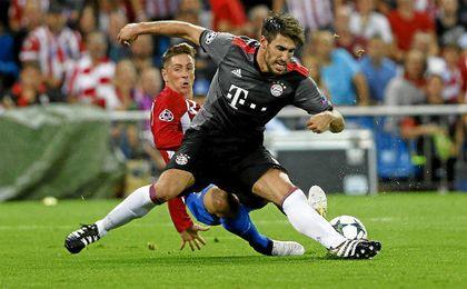El club bávaro no ha estimado aún un tiempo de recuperación para el central español.