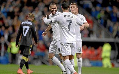 La última visita liguera al Santiago Bernabéu, el curso pasado con Emery en el banco, se saldó con un 4-0 favorable al Real Madrid.