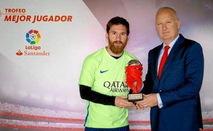 Messi y Míchel, mejor jugador y entrenador de LaLiga del mes de abril