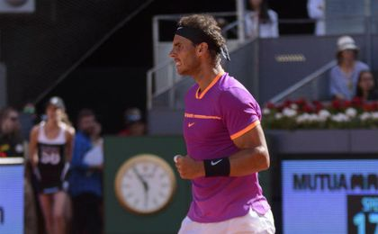 Nadal sigue imparable en tierra.