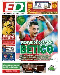 La portada del viernes de ESTADIO Deportivo