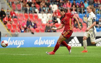España lo intentó durante todo el partido.