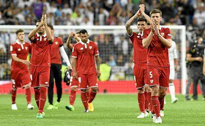 El Sevilla dio la cara en el Bernabéu.