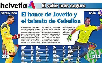 Ceballos y Jovetic: mucho más que gol
