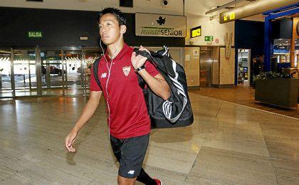 Kiyotake fue traspasado del Sevilla al Cerezo Osaka.