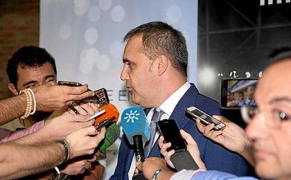 El presidente, Fernando Moral.