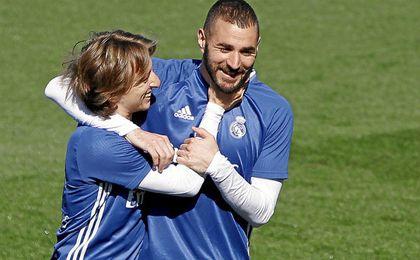 Benzema quiere volver con Francia.