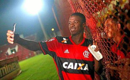 Vinicius, el chico de moda en Brasil.