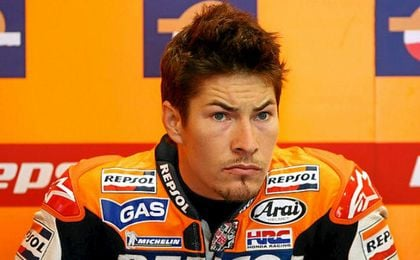 Nicky Hayden ha sido atropellado.