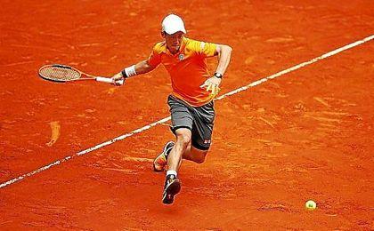 Nishikori se ha impuesto a Ferrer en la tierra batida de Roma.