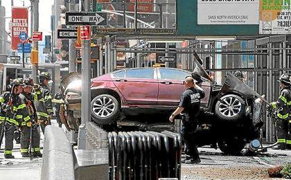 Imagen del coche que ha causado el atropello.
