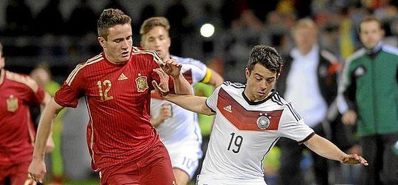 Younes ha sido internacional con Alemania hasta la sub 21.