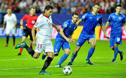 El Sevilla espera estar en la fase de grupos de la Champions 17/18.
