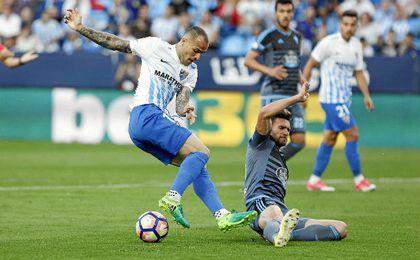 Sandro se ha salido esta temporada en Málaga.