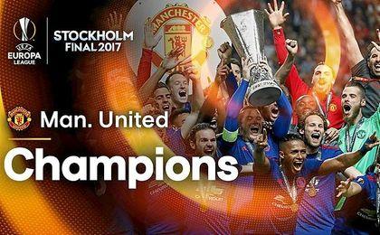 (0-2) El United sucede al Sevilla como campeón