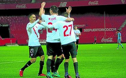 El Sevilla Atlético quiere agradecer el apoyo de la afición con una victoria.