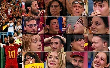 La emocionante despedida de Francesco Totti