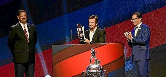 Alonso ha sido declarado el mejor novato de la Indy 500.