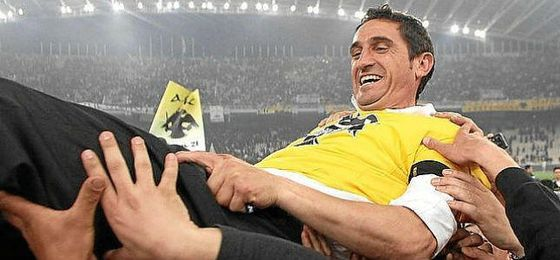 Jiménez ha logrado el gran objetivo del AEK.