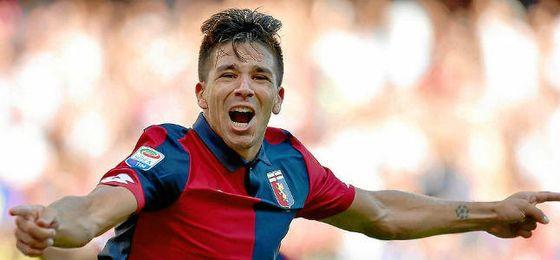 Gio Simeone ha hecho una gran campaña con el Genoa.