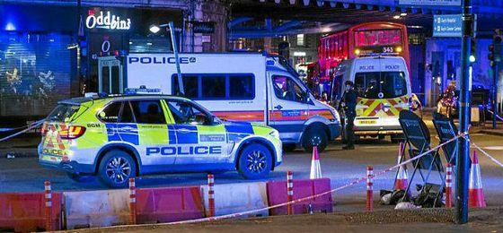 Seis muertos y 48 heridos en varios ataques terroristas en Londres