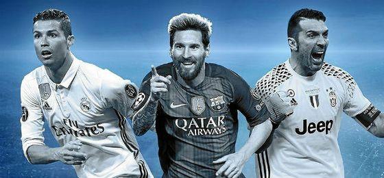 La UEFA elige la plantilla ideal de la Champions