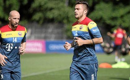 El bético, junto al lateral zurdo Latovlevici, también ex del Steaua.