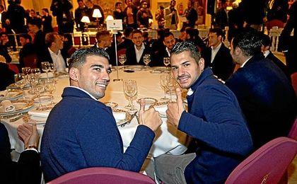 Reyes y Vitolo son buenos amigos.