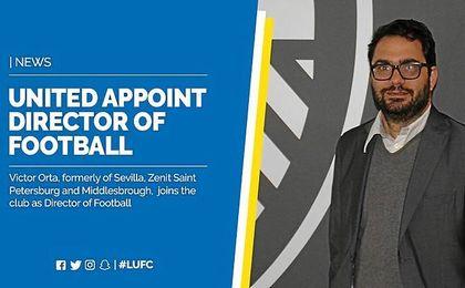 El Leeds ha contratado a Orta como director de fútbol.