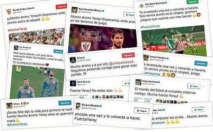 El mundo del deporte se vuelca en las redes sociales en apoyo de Yeray