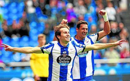 Pedro Mosquera recuperó el protagonismo en el Depor tras la llegada de Pepe Mel.