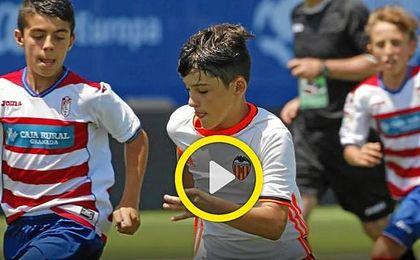 Sigue en directo el Atlético-Sevilla de la Liga Promises