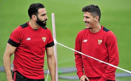 A Rami le agrada volver a entrenar con Rudi García.