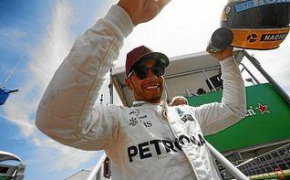 """Hamilton: """"Espero ser recordado como se recuerda a Ayrton Senna"""""""