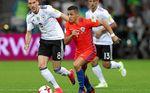 1-1. Alemania frena a una desatada Chile