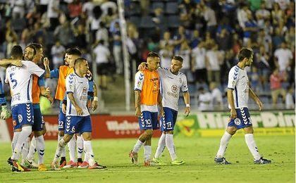 Cinco de los seis resultados que el Tenerife logró en Getafe le darían el ascenso