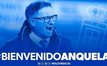 Juan Antonio Anquela, nuevo entrenador del Real Oviedo